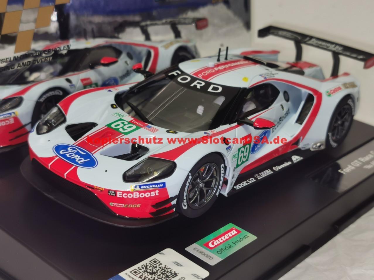 69 Ersatzteilset Zubeh/ör Carrera Digital 124 Kleinteile f/ür 23892 Ford GT Race Car Nr