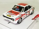 BRM TTS30 Slotcar 1/24 Ford Escort RS 1600 Nr 6 Colt Racing 1000 Lakes Rally 1974